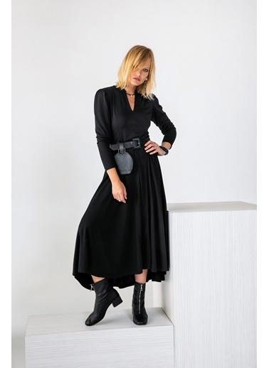 Berr-in  Fayola Elbise Siyah